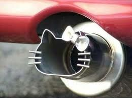 Hello Kitty Car Exhaust tip!!