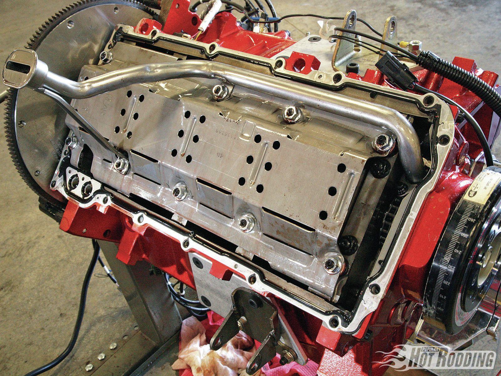 Racing Engine Design 6 0l Ls Chevy Motor Popular Hot Rodding Magazine Chevy Motors Chevy Engineering