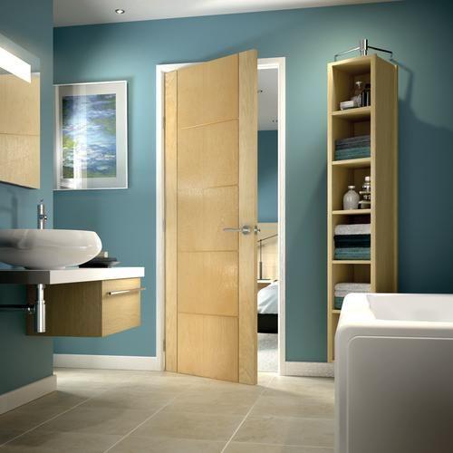 Bathroom Windows Wickes thame oak veneer door 1981x762mm - internal oak veneer doors
