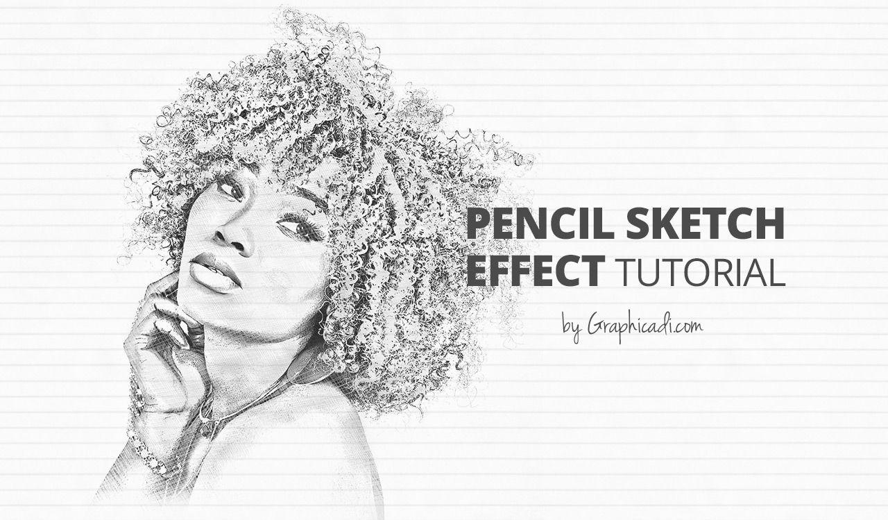 Pencil sketch effect photoshop tutorial