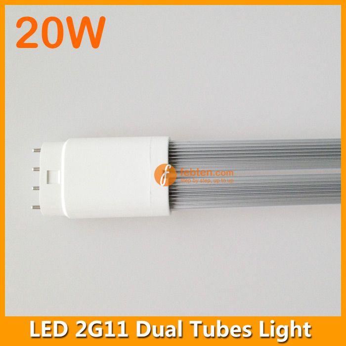 20W 542mm 2G11 LED dual tubes light