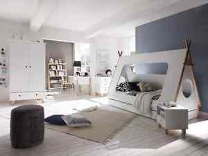 kinderbett bett 90x200 indianerbett kinderzimmer moebel neu 21695 ni os pinterest bett. Black Bedroom Furniture Sets. Home Design Ideas