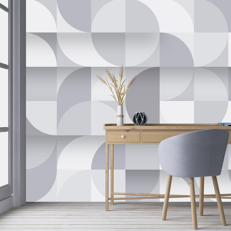 Removable Wallpaper Peel And Stick Wallpaper Wall Decor Etsy Wallpaper Walls Decor Geometric Wallpaper Removable Wallpaper
