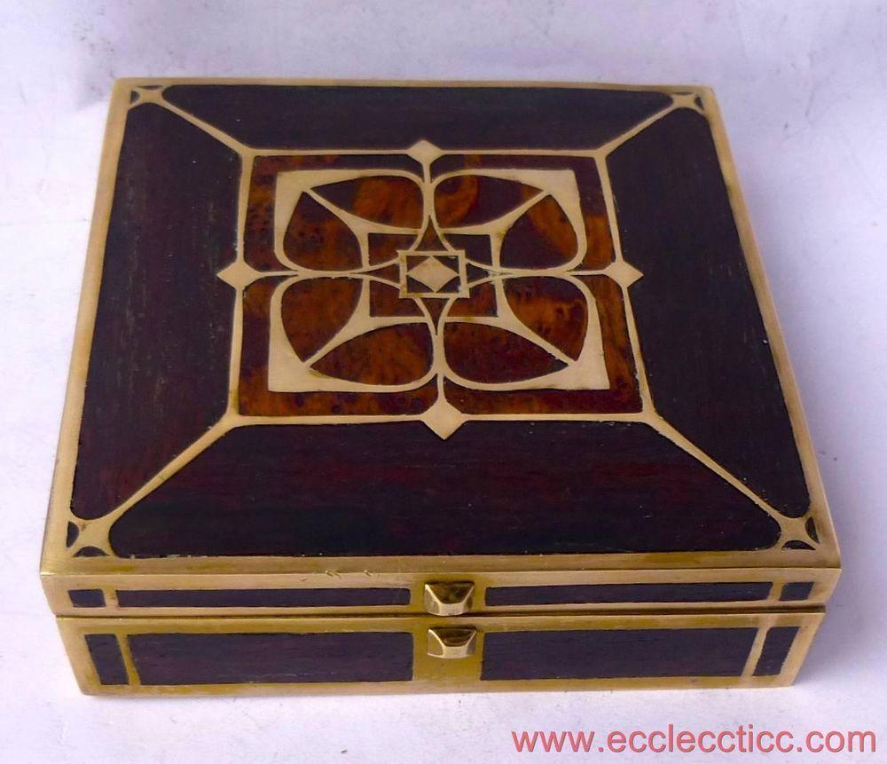 Erhard Shne Sohne Art Nouveau Jewellery Box art nouveau