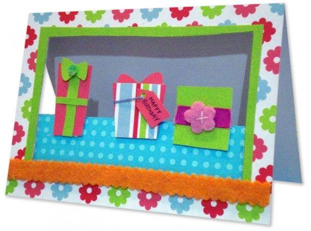 easy but such a pretty birthday card  card making