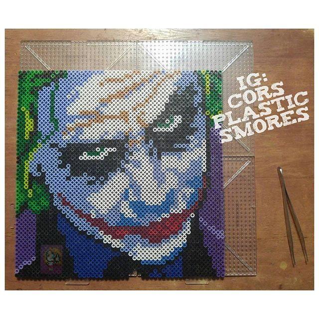 Autistic Batman Perler Beads Mit Bildern Bugelperlen
