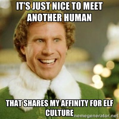 21 Elf Quotes For When You Need An Instagram Caption | f u n n i e s