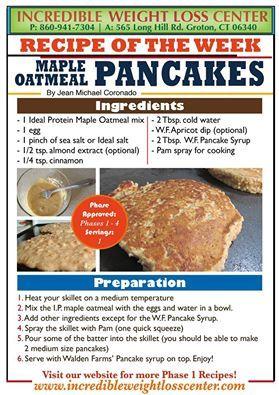 Maple Oatmeal Pancake