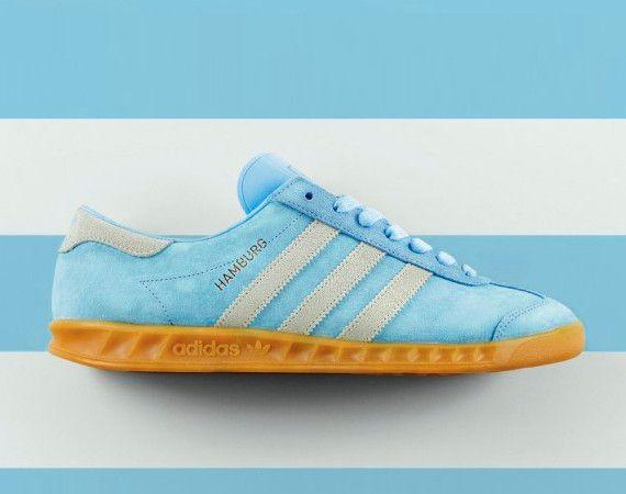 adidas hamburg light blue