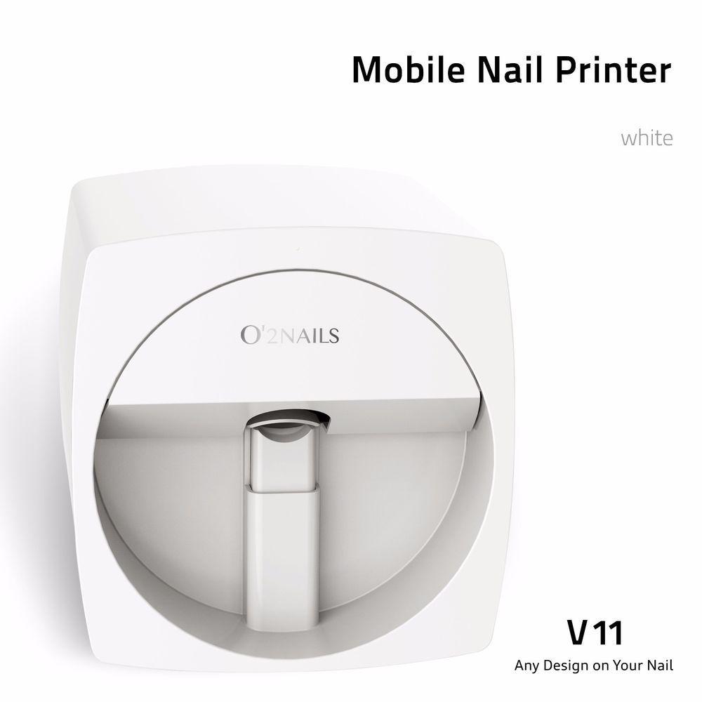 O 2 Nails Mobile Nail Printer V11 O2nails Nail Printer Mobile