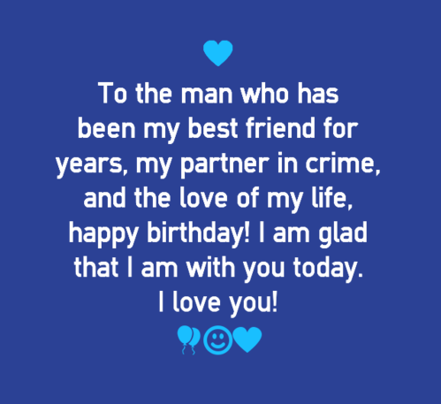 Happy Birthday Quotes for Boyfriend | WishesGreeting ...