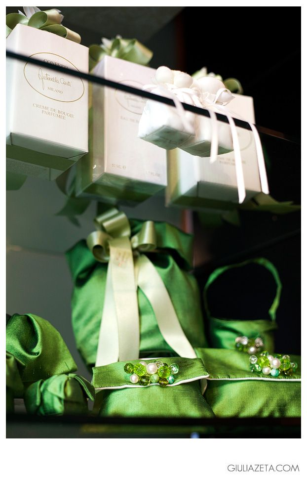 Photo of Green Wedding Favors by Confetteria Conti MILAN