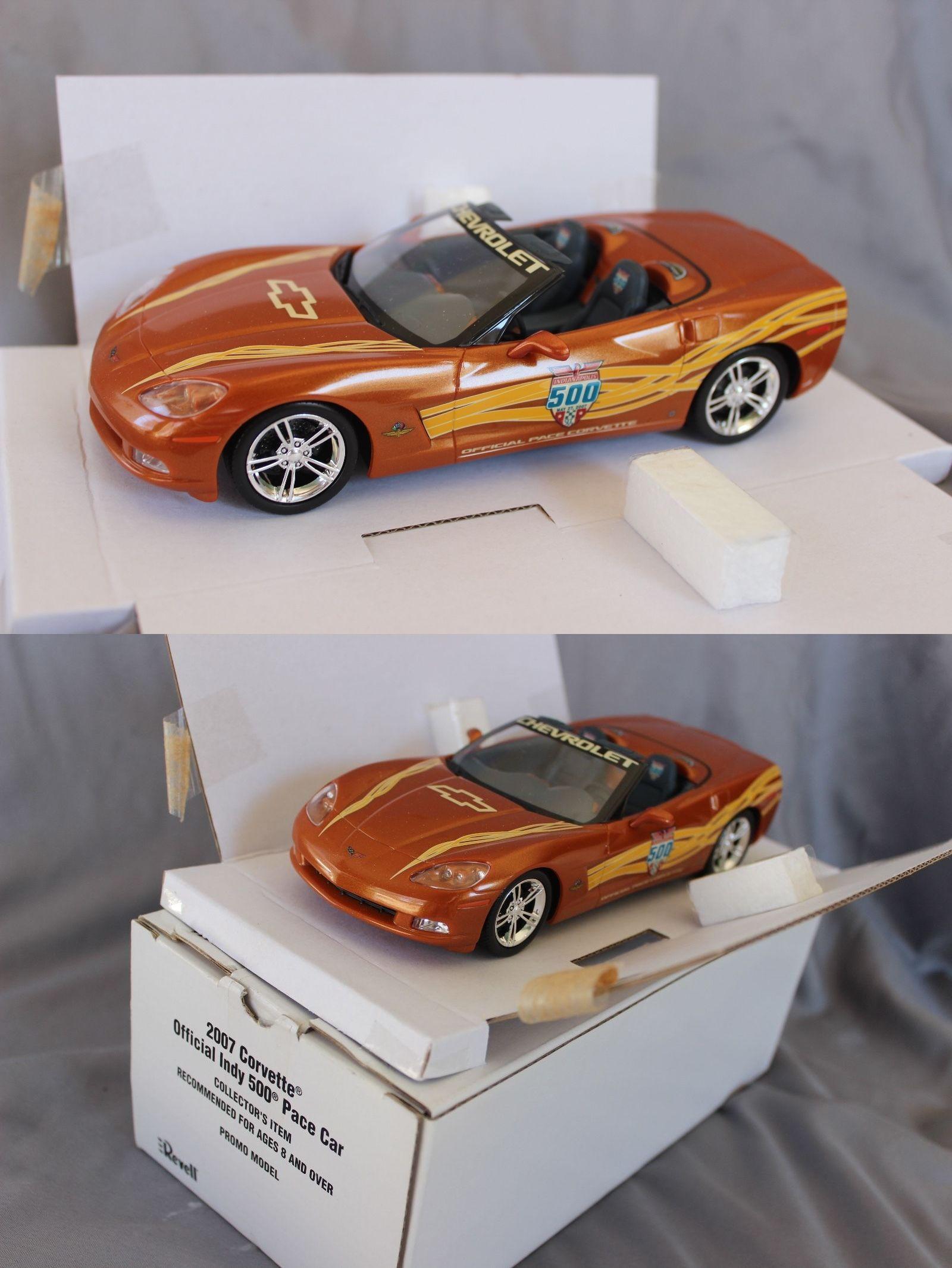 Promo 2592 revell 2007 corvette indy pace car promo model mib buy it