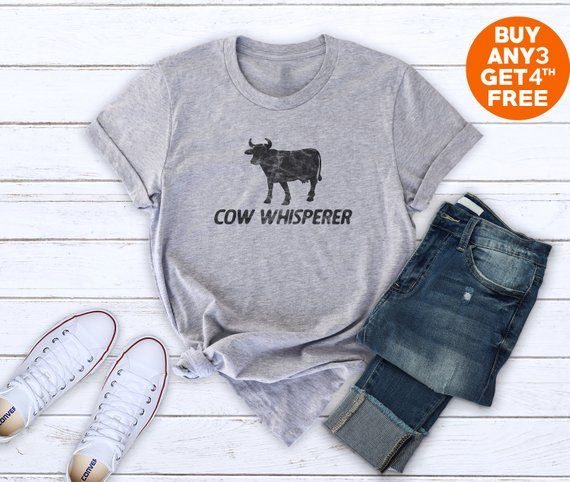 a8b6661786 Cow whisperer shirt Cow tshirt women graphic tees ladies funny shirt  country t shirt farm life shirt