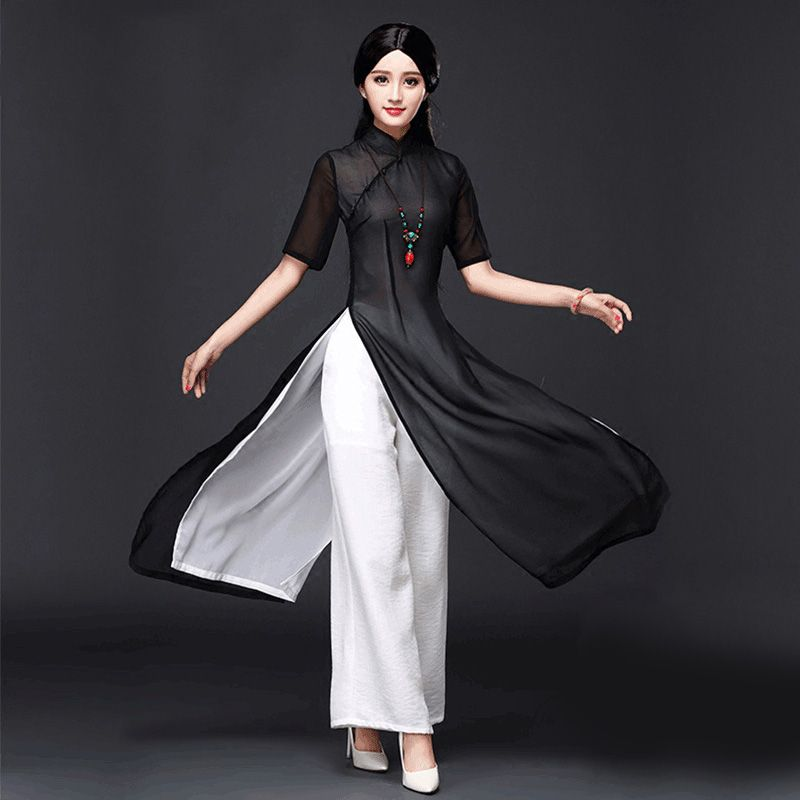 2017 summer vietnam ao dai chinese traditional dress chinese dress ...