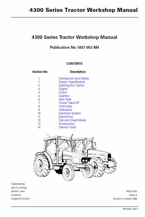 engine repair diagram massey ferguson 4345  4355  4360  4365  4370 tractor service  massey ferguson 4345  4355  4360  4365
