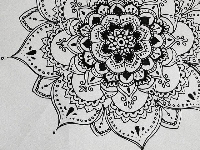 Henna Esk Flower Mehindi Henna Tattoos Drawings
