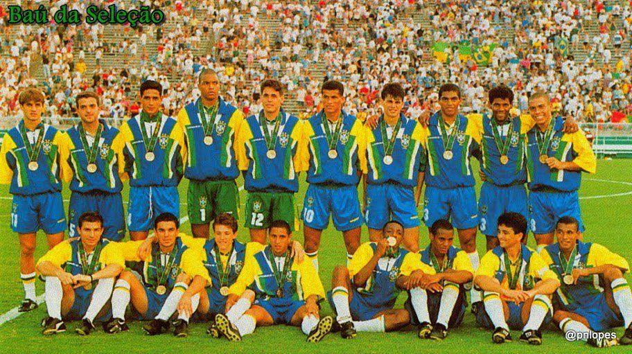 1996 seleção olímpica medalhista de bronze em Atlanta.  Rio2016  FutMasc 49b4c903270a3