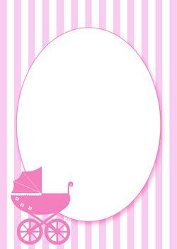 Charmant Free Printable Pink Baby Shower Invitation