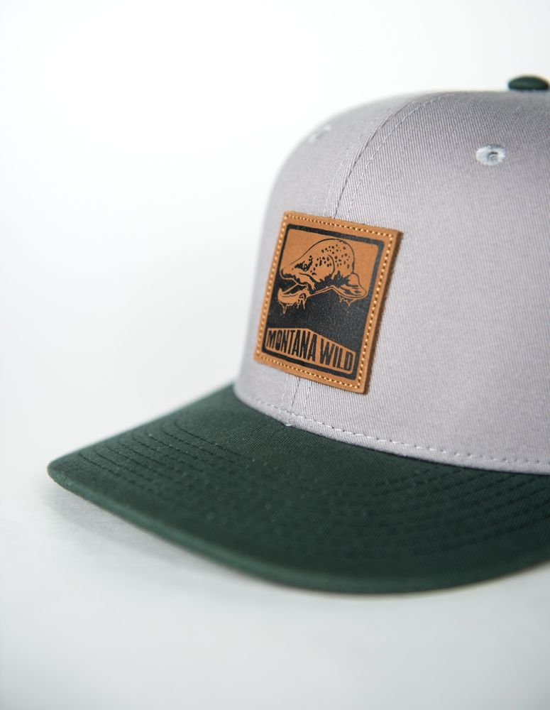 BUGGED OUT BROWN TROUT TRUCKER (Forest | Styles I Love | Hat