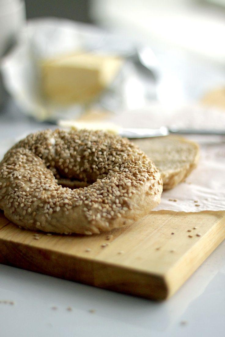 classic sesame bagels