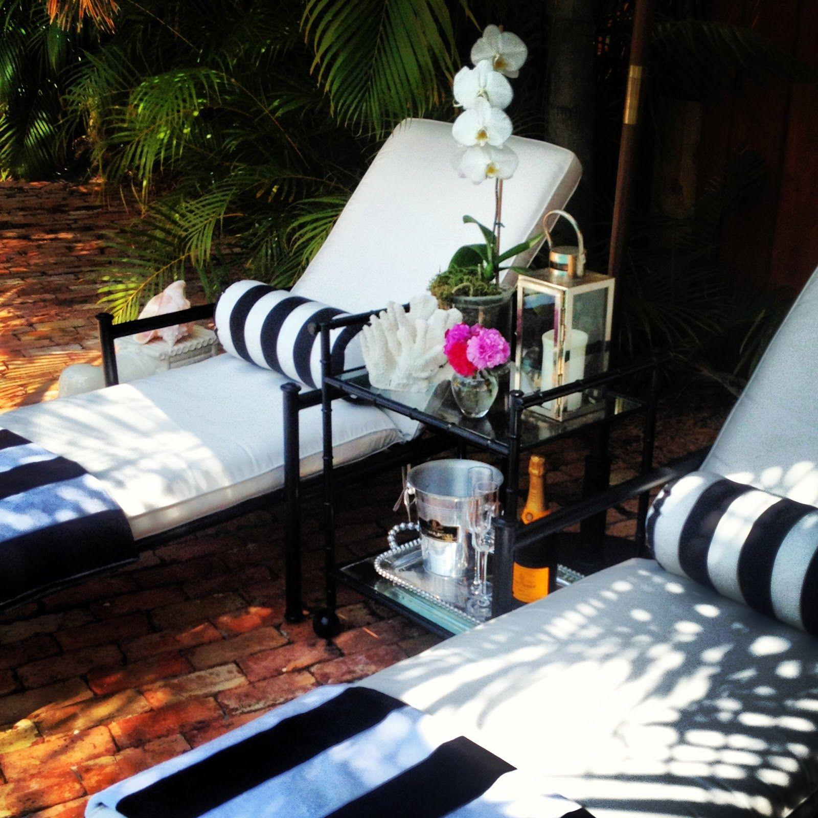 Black And White Stripe Beach Towels Google Search Pool