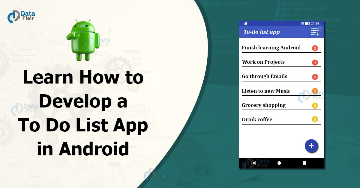 An Interesting Project on Android To Do List App. in 2020