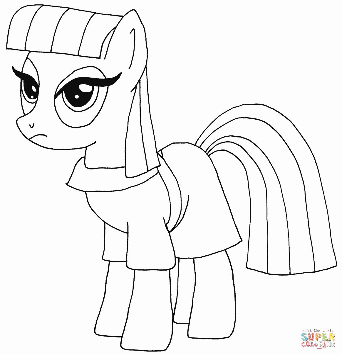 My Little Pony Coloring Pages Flurry Heart Tips