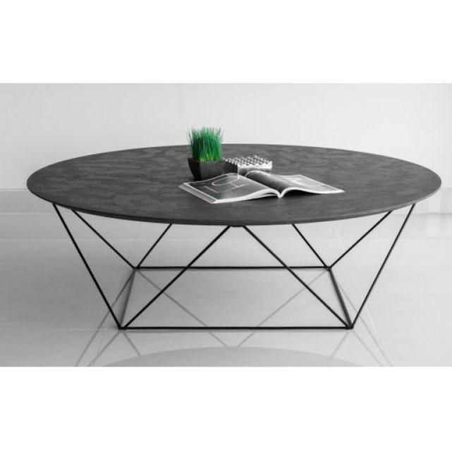 table basse avec plateau en imitation b ton cir copa salon pinterest table basse plateau. Black Bedroom Furniture Sets. Home Design Ideas