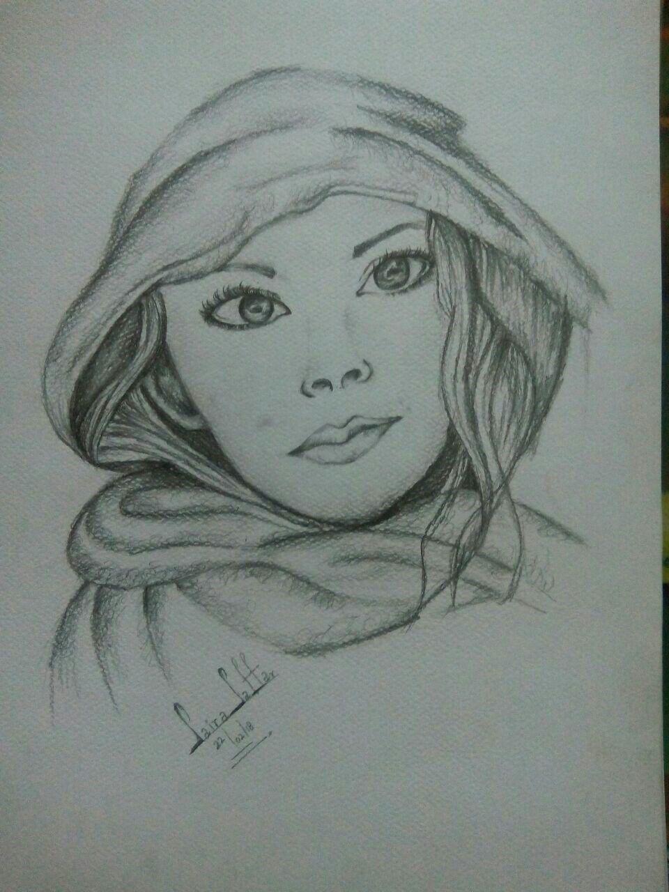 Pencil Shading 😍...#Portrait#...($.$) | Sketches, Pencil ...