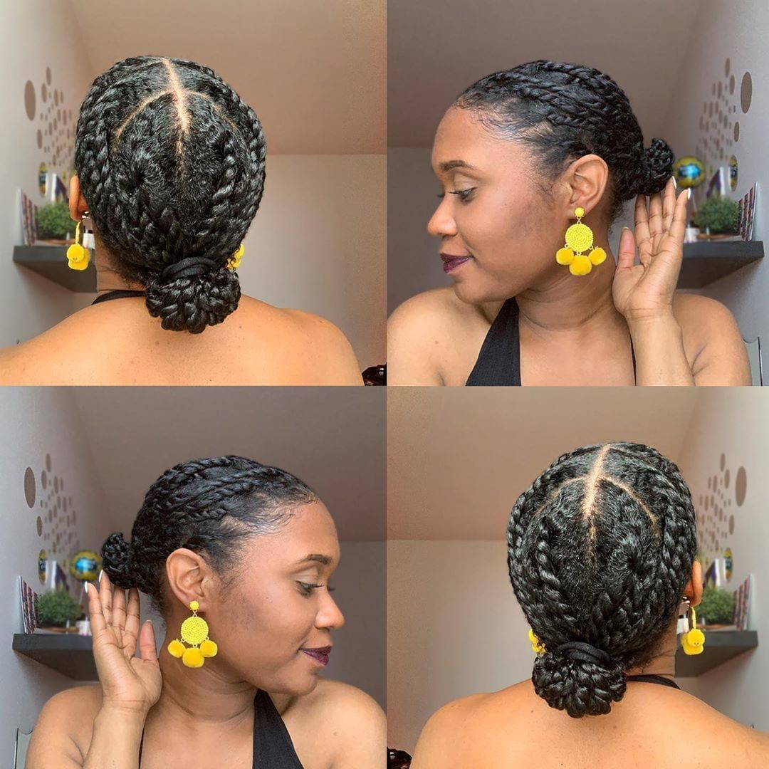 Hair Protective Styles Protective Styles Easy Twa Protective Styles In 2020 Mini Twists Natural Hair Natural Hair Braids Protective Styles For Natural Hair Short