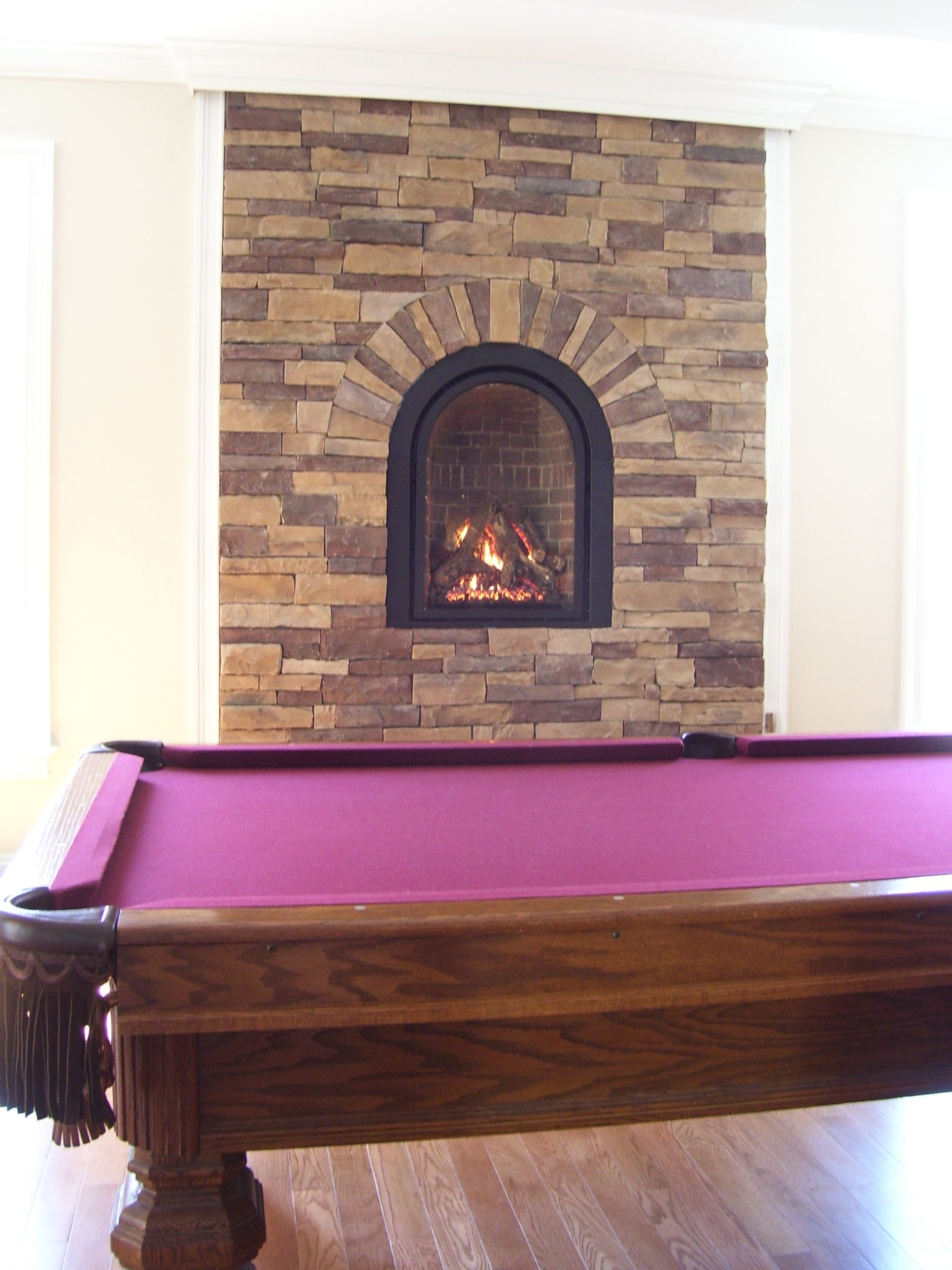 The Compact Arched Mendota M 27 Chelsea Direct Vent Gas Fireplace Perfect To Warm Up The