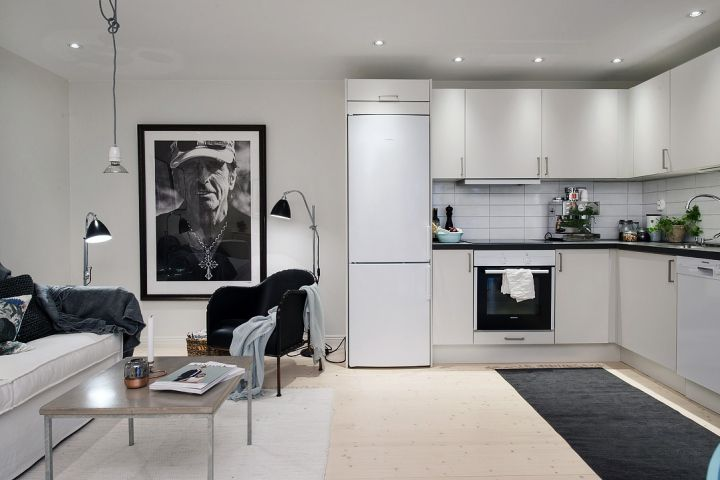 48 m² bien planificados Living spaces, Spaces and Interiors