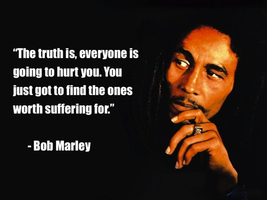 Bob Marley Love Quotes right from the Jamacian slums came this powerful man who stood up  Bob Marley Love Quotes
