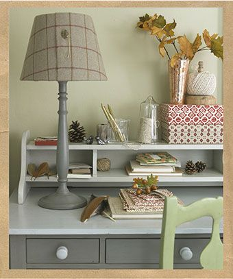 Learn how to make this lovely lampshade craft idea following country homes and interiors instructions