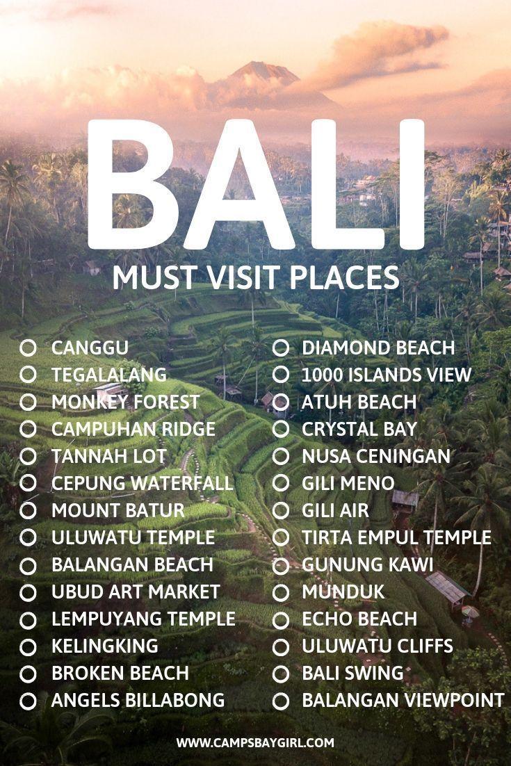 8 Orte für epische Instagram-Fotos in Bali Indonesien – Campsbay Girl