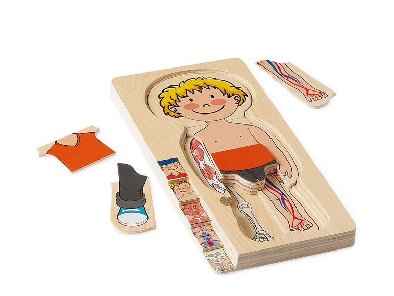 PLAYTIVE® JUNIOR деревянная обучающая игра - / - пазл ...
