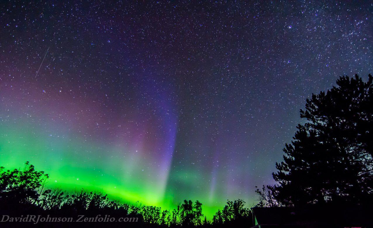 aurora borealis minnesota northern southern lights pinterest