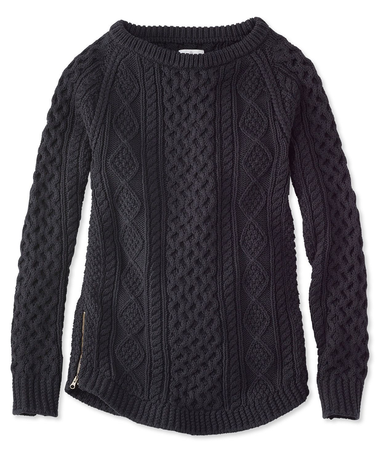 Signature Cotton Fisherman Tunic Sweater | WOMEN'S FALL FASHIONS ...