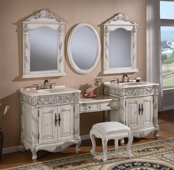 Makeup Vanity In Bathroom Google Search Unique Bathroom Vanity Double Vanity Bathroom Bathroom Sink Vanity