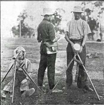In 1914 the army was still using the heliograph to send