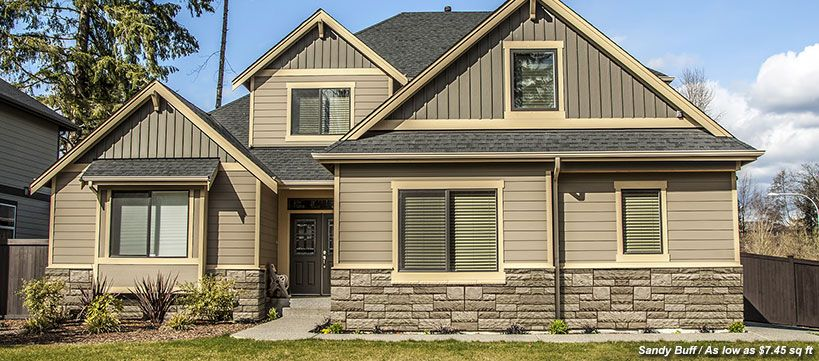 Faux Stone Siding Panels | BuildDirect