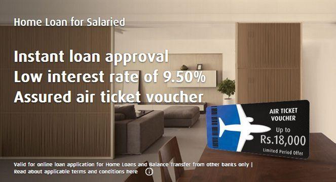 Bajaj Finserv Is Offering Free Air Ticket Vouchers On Applying For Homeloan At Lucrative Interest Rate Of 9 50 Online Apply Home Loans Loan Refinance Loans