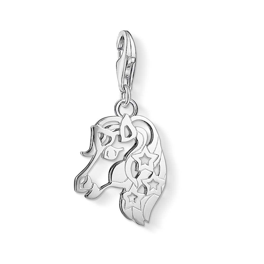 Thomas Sabo Women-Charm Pendant Owl Charm Club 925 Sterling silver 1393-001-12 AagWd