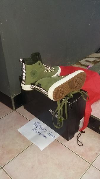 Jual beli Converse Chuck Taylor II Hi Boot Shield Canvas Green Original di  Lapak IMOGEN STORE 0dc462042f