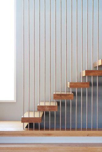 Wheeler Residence Modern Staircase New York Saniee