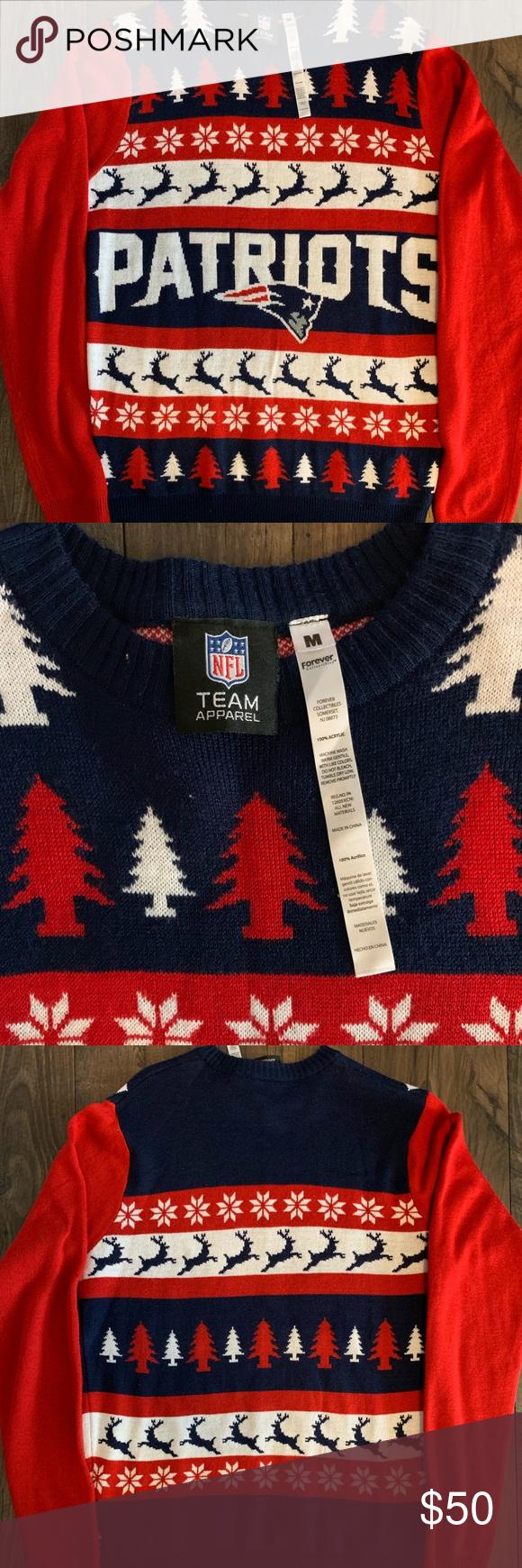 Nfl Patriots Sweater My Posh Picks Sweaters Fashion Tips