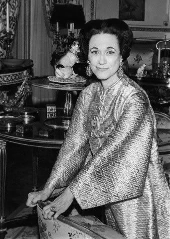 A Portrait Of The Duchess Of Windsor From Vogue Magazine 1968