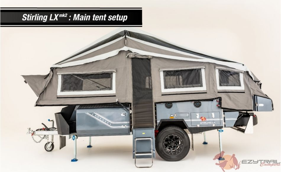 Stirling Lx Mk2 Off Road Hard Floor Camper Trailer For Sale In