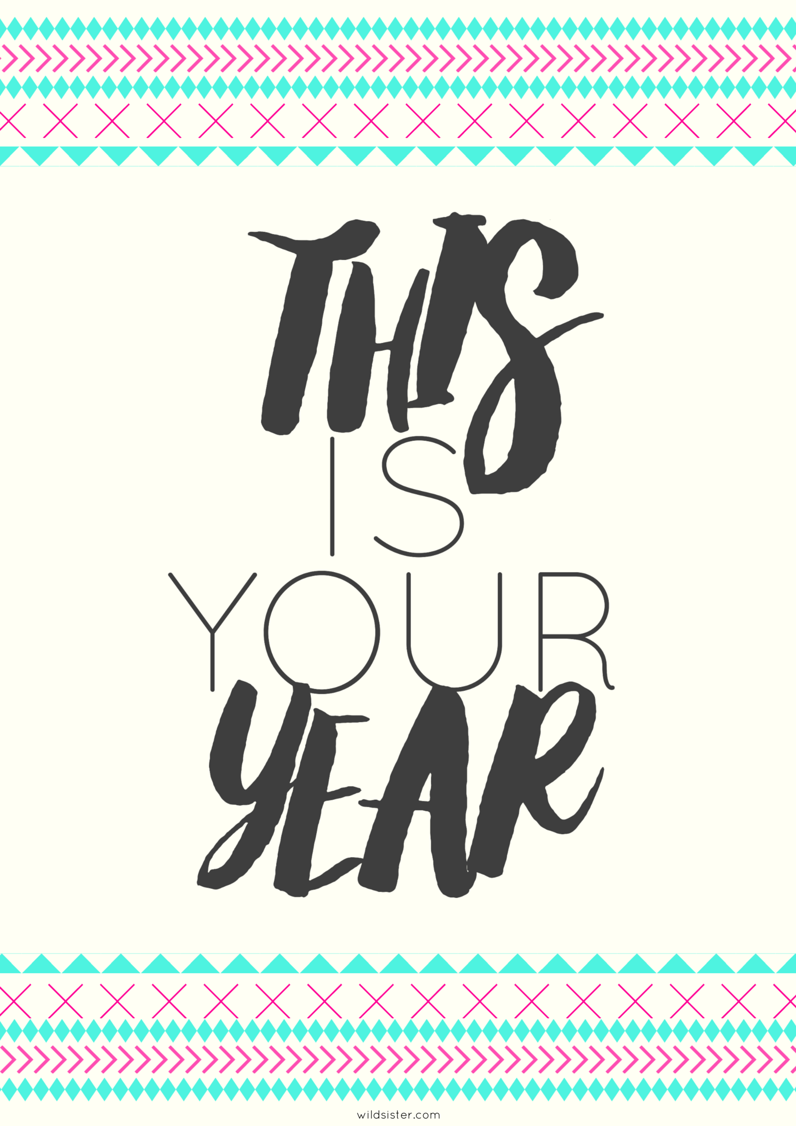 Wild Sister\'s Free Download for your 2015 vision board. Love ...